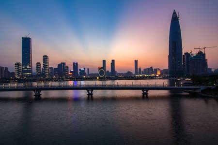 Shenzhen Bay scenery Stock Photo