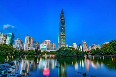 Shenzhen litchi Park landscape scenery view