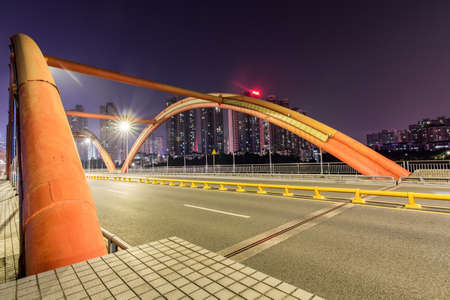 Shenzhen Rainbow Bridge Stock Photo