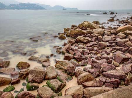 Dameisha beach view Stock Photo