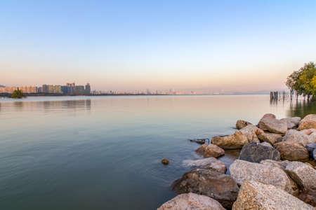 Shenzhen bay park paysages Banque d'images - 98268343