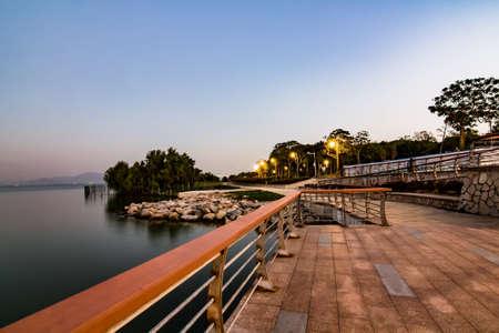 Shenzhen bay park paysages Banque d'images - 98268349