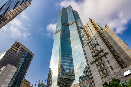 Hongkong international financial center Banque d'images - 98764270
