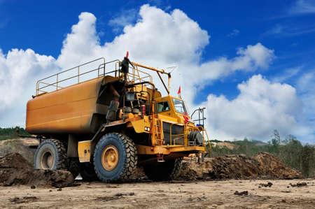 heavy: equipment  heavy  water  truck