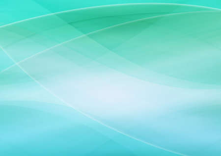 Abstract green curve background.