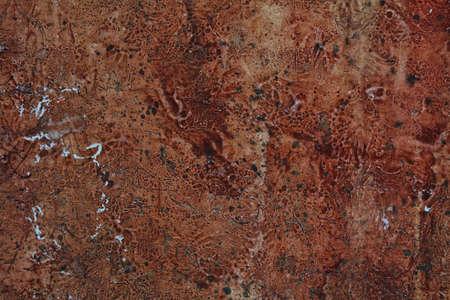 oxidado: Fondo de pared de grunge.