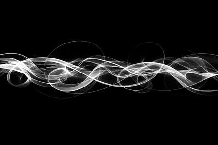 The abstract light streak background.