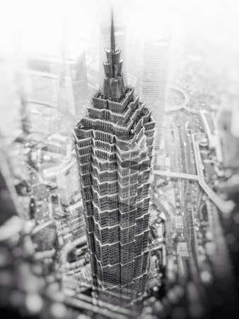 Shanghai skyscraper - Jin Mao Tower