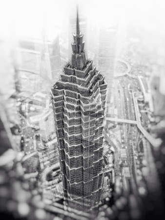 jin mao tower: Shanghai skyscraper - Jin Mao Tower
