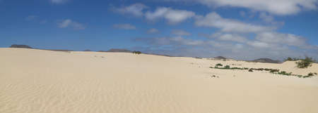 Corralejo Desert on Fuerteventura, Spain.