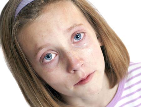 heartbroken little girl photo