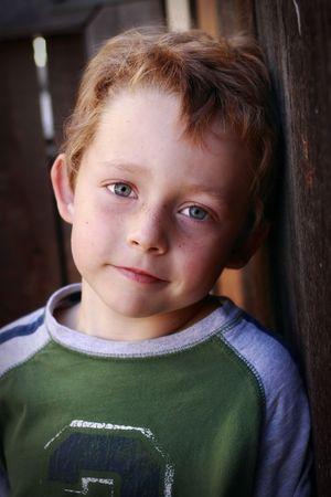 adorable blue-eyed boy