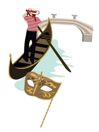 venice italy: Symbols of Venice