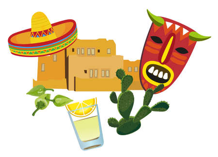 plant to drink: Mexican Symbols