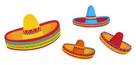 sombrero: Sombrero Stock Illustratie
