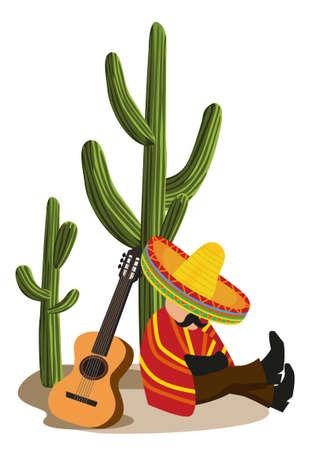 sombrero de charro: Mexicano siestas