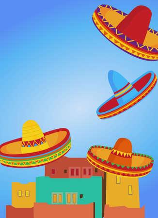 spanish house: Sombreros
