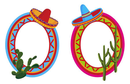 mexican hat: Mexican Frames