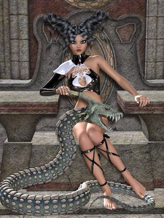 3d snake: Queen of snakes