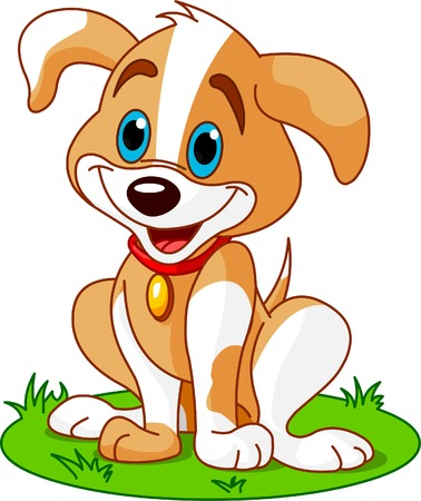 Cute and funny chiot Banque d'images - 3876829