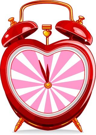 정오: Love vintage alarm clock