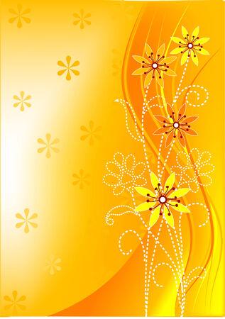 Primavera floral vector antecedentes con copia espacio Foto de archivo - 5122434