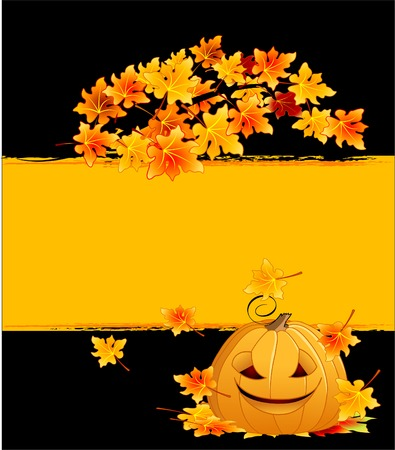 Halloween background with copy space for the text