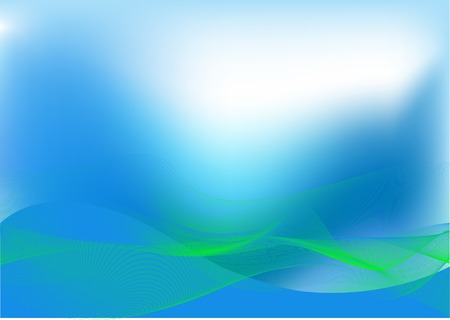 hi tech: Abstract blue and green hi tech background