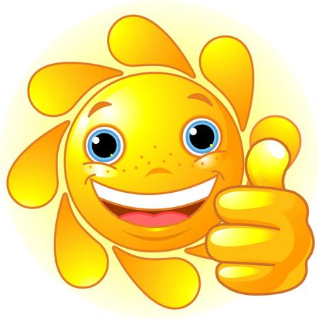 手の親指をあきらめるとかわいい、幸せな日