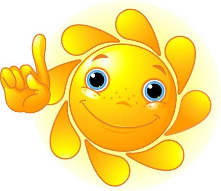 positivism: Lindos y brillantes puntos de Sun un dedo a hasta