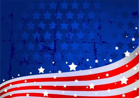rayas de colores: Un fondo de bandera estadounidense Vectores