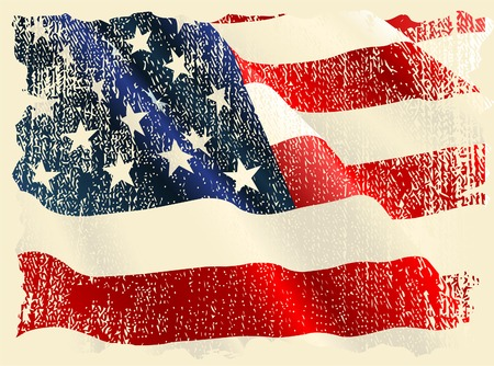 us flag grunge: USA flag theme background and texture