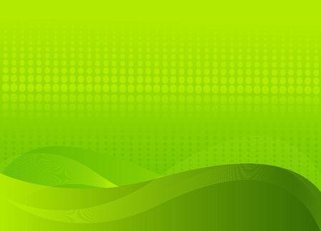 テキストのための場所と抽象的な緑の背景