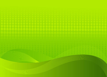 Abstract green background with place for a text