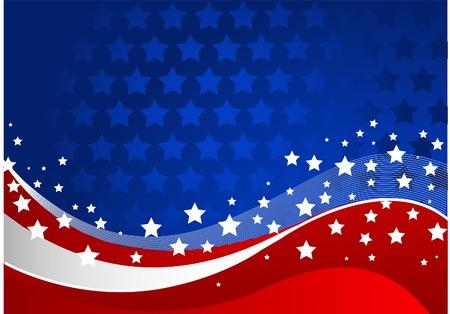 estados unidos bandera: Fondo de celebraci�n del cuarto de julio