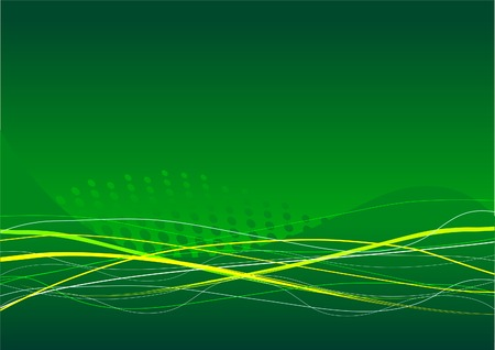 Abstract  green background with place for a text Stock Vector - 7482118