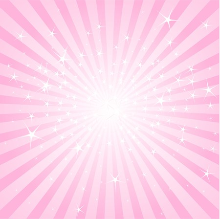Pink abstract background with stars and stripes Vettoriali
