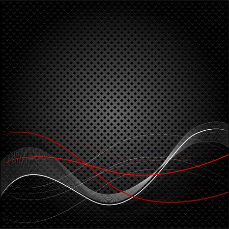 Abstract black texture background with lines Vector