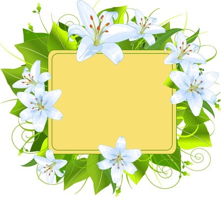 Easter frame, perfect for greeting cards or retail signage Vector