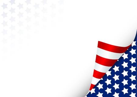 bandera americana: Fondo de celebraci�n del cuatro de julio