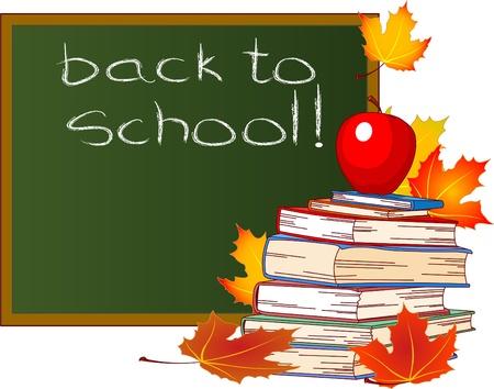 classroom supplies: Volver a la Escuela de Dise�o, aisladas sobre fondo blanco