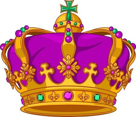 Beautiful Mardi Gras crown