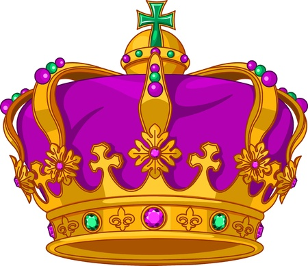 mardi gras: Beautiful Mardi Gras crown