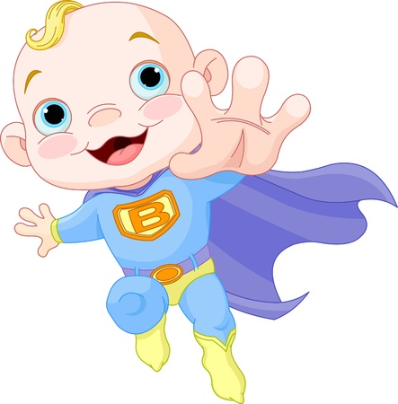 air baby: Illustration of  Baby Boy