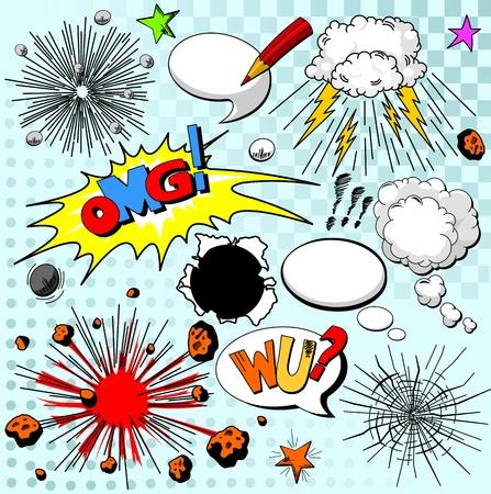 historietas: Elementos cómicos para su diseño