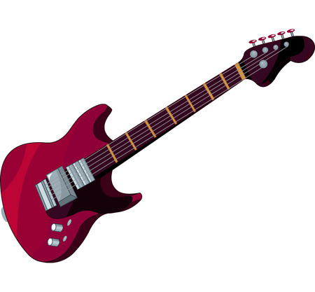 일렉트릭 기타의 그림