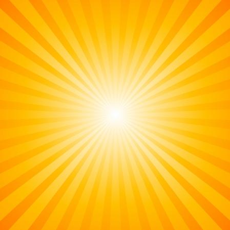 sol: Sunburst Modelo radial Vectores