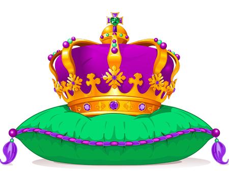 mardi: Beautiful Mardi Gras crown