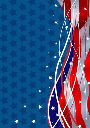 free vote: Stars and Stripes Fourth of July Patriotic Background