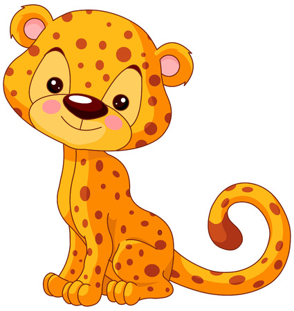 Illustration of cute Jaguar